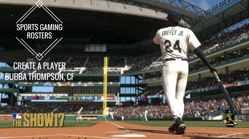 MLB The Show 17 CAP – CF Bubba Thompson