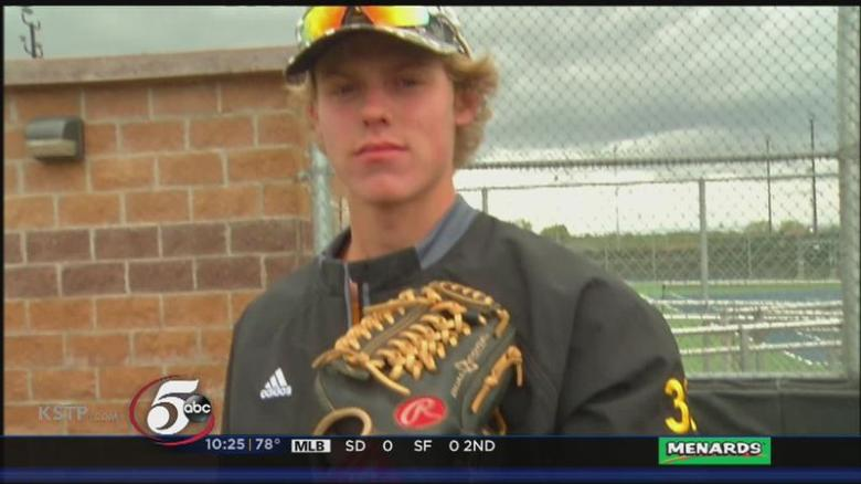 burnsville_star_baseball_player_sam_carlson_plays_with_a_heavy_heart-syndimport-084920