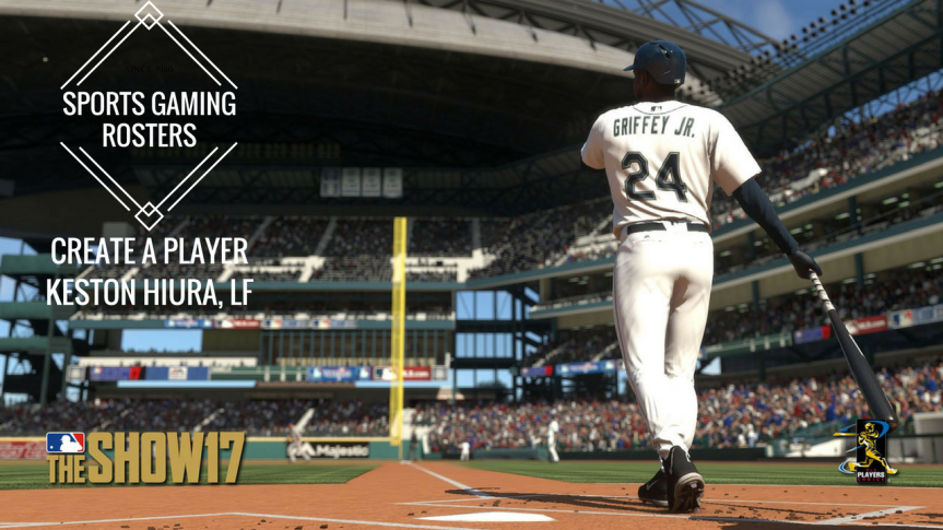 MLB The Show 17 CAP – LF Keston Hiura