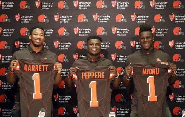 Madden NFL 18 – 2017 NFL Draft Rookie Ratings (Sorted by DraftOrder)