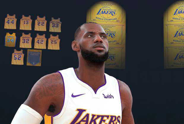 Sports Gaming Rosters Presents NBA 2K19 PS4 Opening Day Rosters
