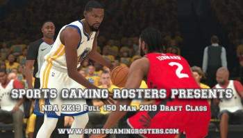 NBA 2K19 Draft Classes – 2019 Class – Sports Gaming Rosters