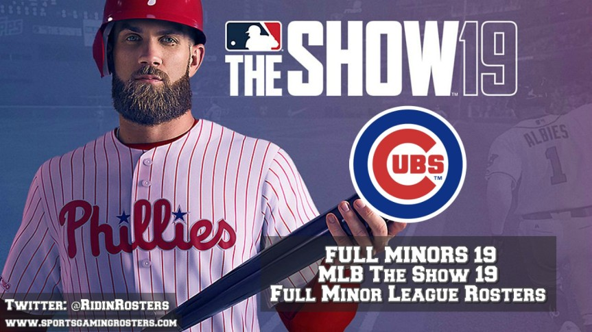 MLB The Show 19 – Full Minors 19 – ChicagoCubs