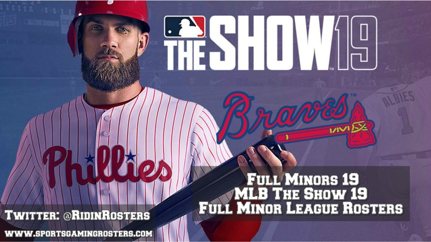 MLB 19 The Show – Full Rosters 19 – Atlanta Braves