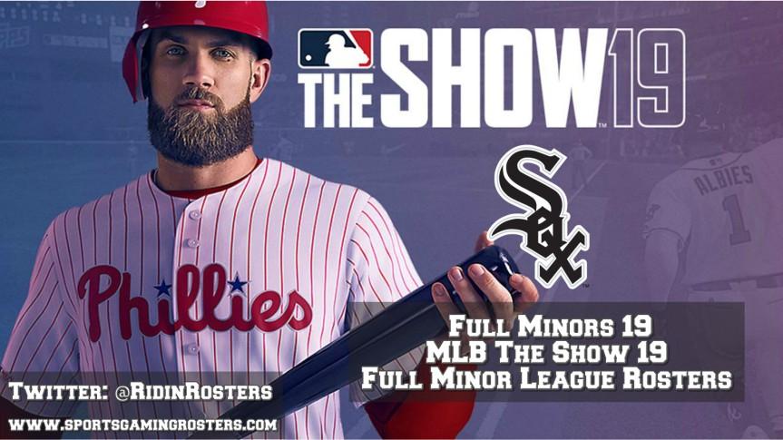 MLB The Show 19 – Full Minors 19 – Chicago WhiteSox