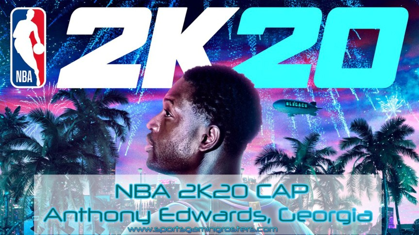 NBA 2K20 CAP – Anthony Edwards, Georgia