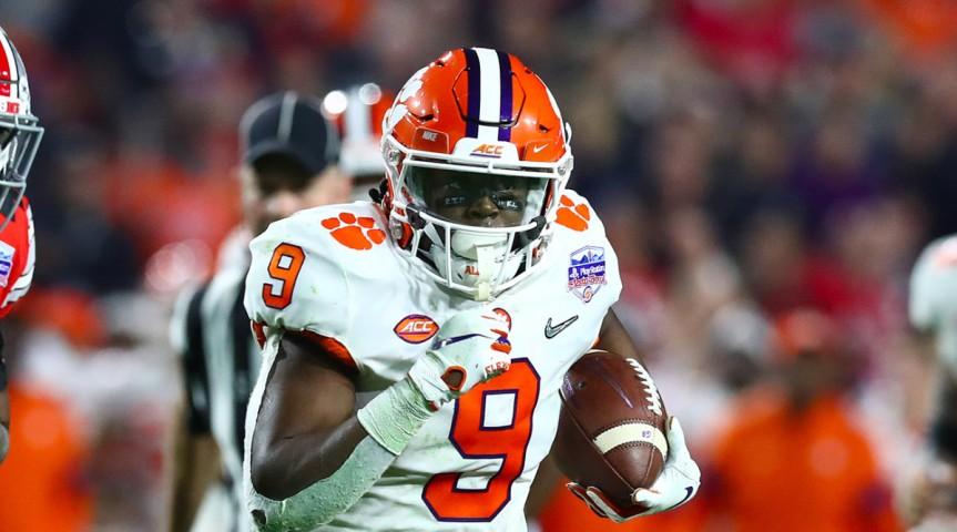 Madden NFL 21 2021 Draft Class – RunningBacks